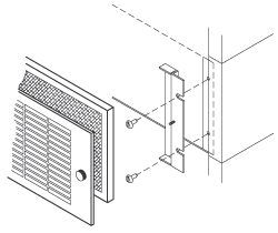 Filter Grille Assembly Drawing