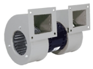 double centrifugal blowers