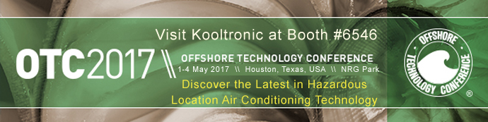 Visit Kooltronic at booth 6546 at OTC 2017