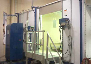 Powder Paint Booth